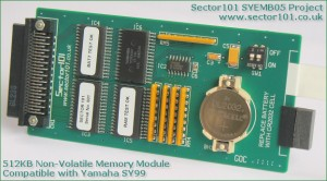 Sector 101 SYEMB05 RAM expansion module for the SY99.